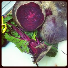 Fresh beets are so rich in Iron, it's also an immunity booster and guard against cancer.