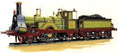 Locomotive Diesel, Steam Locomotive, Train Truck, Steam Railway, Train Art, Great Western, Orient Express, Steam Engine, Model Trains