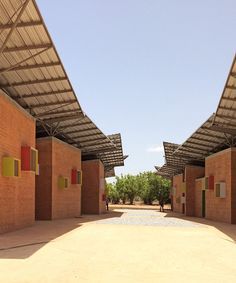 Kere-Architecture   'Surgical Clinic in Léo'   Leo, Burkina Faso   2014   http://www.kerearchitecture.com/