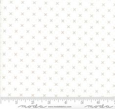 """17 Yards in Stock - Moda Fabrics - 108"""" Wide Nest Eggshell - White Quilt Back /  Backing Fabric by Lella Boutique - 11143-11 - 100% Cotton"""