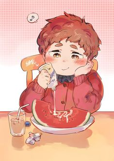When you want to eat healthy but you just can't abandon the sweets Clyde South Park, Creek South Park, South Park Anime, South Park Fanart, South Park Characters, Park Art, Spirit Animal, Aesthetic Anime, Cute Babies