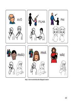 Apostila com atividades de Libras Comics, Special Education Activities, Literacy Activities, Educational Planning, Languages, Autism, Cartoons, Comic, Comics And Cartoons