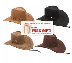 BLACK WOVEN COWBOY HAT cowgirls hats western rodeos cap mens womens adult new