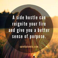The benefits of having a #sidehustle