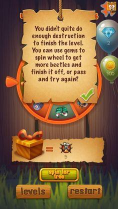 推荐_手机游戏UI《甲虫大作战》界面欣赏_点击查看原图