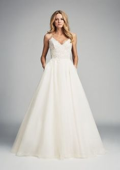 Caroline Castigliano 2017 Collection: Elegant Styles for Sophisticated Brides Image: 20