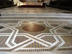 Monreale floor mosaic detail by bconklin