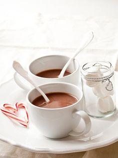 Hot Chocolate set-up