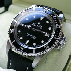 Rolex 5513 L SS Watch Antique