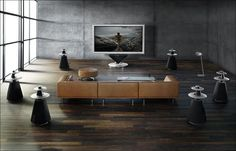 Bang and Olufsen surround sound and beovision(tv)....