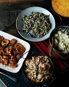 Sage and Honey Skillet Cornbread Recipe | Martha Stewart