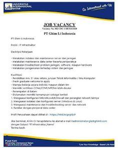 Lowongan Kerja Batam PT. Ghim Li Indonesia (5/12/2020) Batam