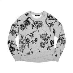 Obey Wmns Alden Crewneck Heather Grey. Available at Concrete Store Prinsestraat the Hague | Concrete Store Amsterdam | WEB SHOP #dipyourfeetintotheconcrete #concrete #store #the #hague #amsterdam #clothing #women #street #wear #Obey #Wmns #Alden #Crewneck #Heather #Grey