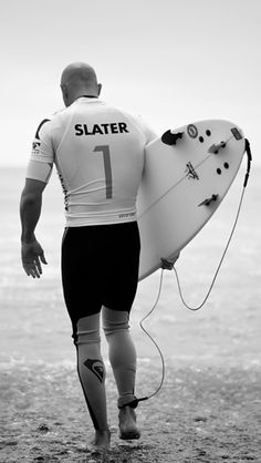 Kelly Slater...major hero to all 40+ year old surfers, but has crossed over several generations of watermen, younger and older. The Best!