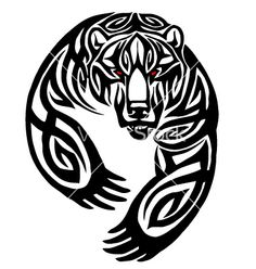 24 Latest Bear Tattoo Designs for sizing 900 X 900 Celtic Bear Tattoo Sleeve - There are an range of sentimental tattoo ideas which are frequently amazing Tribal Bear Tattoo, Bear Paw Tattoos, Tribal Animal Tattoos, Tribal Animals, Tattoo Animal, Kunst Tattoos, Body Art Tattoos, Sleeve Tattoos, Ship Tattoos