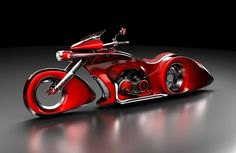 Mikhail Smolyanov from Moscow makes concept cars and motorcycles designs which are getting more and more popular abroad. Concept Motorcycles, Cool Motorcycles, Futuristic Motorcycle, Futuristic Cars, Motorcycle Design, Motorcycle Bike, Chevy, Custom Street Bikes, Custom Choppers
