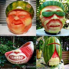 Awesome Watermelon Art - Food Porn