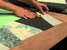 Check out how to use the Trace 'n Create Grandmother's One Patch template, it's a video tutorial, and see how quickly a quilt top can come together.
