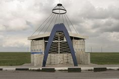 The Soviet Roadside Bus-stop by Christopher Herwig