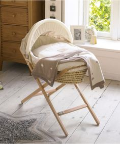 Top 10 Cheap Bassinets For Your Baby Moses basket, I'd love this for our master bedroom Baby Bedroom, Baby Room Decor, Nursery Room, Master Bedroom, Moses Basket Stand, Baby Dolls, Baby Room Design, Mamas And Papas, Nursery Furniture