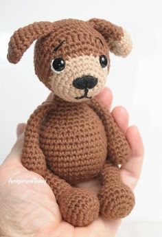 Amigurumi Timmy the Dog - Free crochet pattern