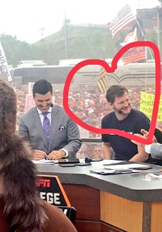 Amy saved it from College Gameday
