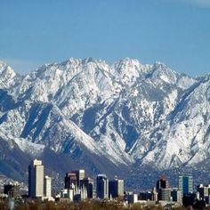 Wasatch Mountains Salt Lake City | ... wasatch mountain range in utah this range is 160 miles and is part