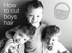 Learn how to cut fast growing boy hair