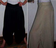 Pantalones de algodón