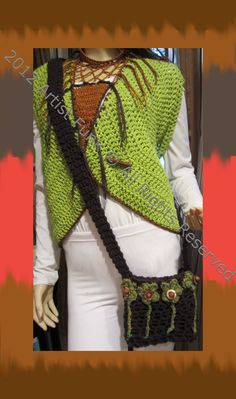 Funky Handmade Handbags  Cross Body Hip Bag  by ArtisticFunk, $25.00