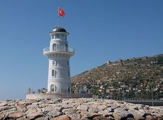 Southern Turkey - Alanya South Breakwater Light, 2010  anonymous Wikimedia Creative Commons photo