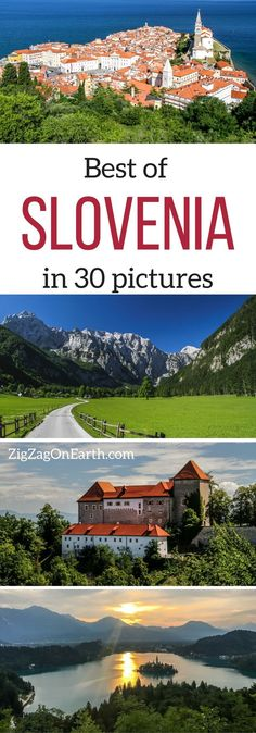 Best of Slovenia Travel Guide - 30 photos to show you the amazing Slovenia Landscapes. Definitively a country to add to your Travel Bucket list - Get inspired! | Slovenia Things to do