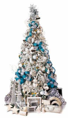 Arctic Ice Christmas Tree