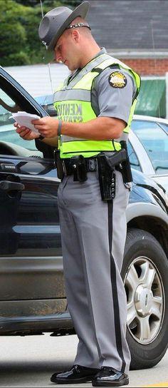 Clothed Men - Sometimes the clothes make the men Cop Uniform, Men In Uniform, Security Uniforms, Sexy Gay Men, Police, Rugby Men, Hot Cops, Bear Men, Hommes Sexy