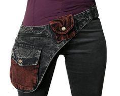 Jean Crafts, Denim Crafts, Denim Fashion, Look Fashion, Denim Ideas, Hip Bag, Recycled Denim, Denim Bag, Cloth Bags
