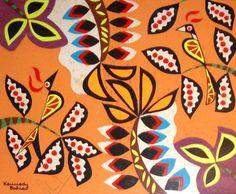 Kennedy Bahia. Tapeçaria. 35x41 cm