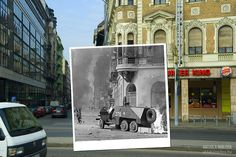 Hungarian Kerényi Zoltán photographer combines past photos made today with images. So we can be seen are parties to an amazing, it is worth the tiny details to observe, and how much the site has changed the long in decades. Photoshop For Photographers, Photoshop Photography, Photoshop Design, Photoshop Actions, New Foto, Then And Now Photos, Days Of Future Past, Photo Location, Photos Du