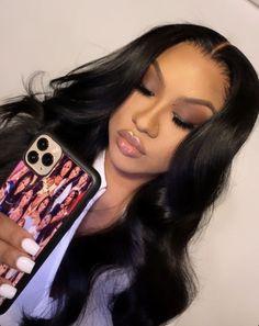 Smoke Eye Makeup, Sultry Makeup, Black Girl Makeup Natural, Natural Cosmetics, Baddie Hairstyles, Black Girls Hairstyles, Weave Hairstyles, School Hairstyles, Hair