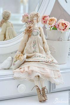 Купить Фелиция - тильда, тильда кукла, текстильная кукла, интерьерная кукла, декор для интерьера
