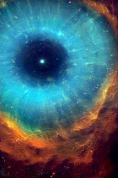 The Eye of Cosmos...it's like looking into your eyes