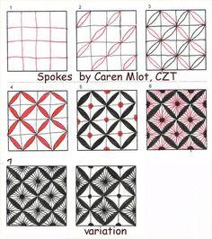 Spokes by CZT Caren Mlot