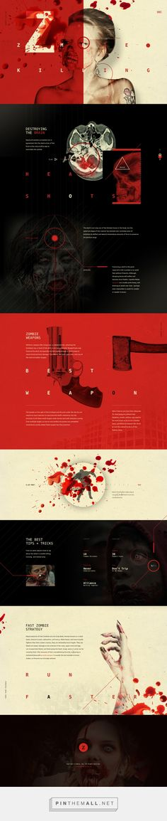 Zombie Killing Web Design by Elegant Seagulls | Fivestar Branding Agency – Design and Branding Agency & Curated Inspiration Gallery