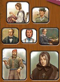 Différents personnages Cycle 3, Social Studies, Teacher, Baseball Cards, History, School, Classroom Ideas, Canada, Socialism