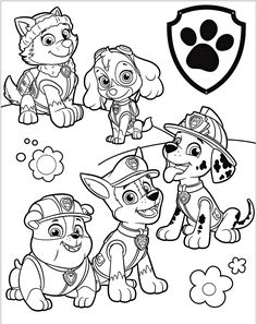 Ten Doubts You Should Clarify About Paw Patrol Coloring Pages Printable Colouring Pages, Printable Coloring Pages, Coloring Sheets, Coloring Books, Free Coloring, Coloring Pages For Kids, Adult Coloring, Nick Jr Paw Patrol, Sky Paw Patrol