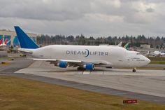 Boeing 747 Dreamlifter.