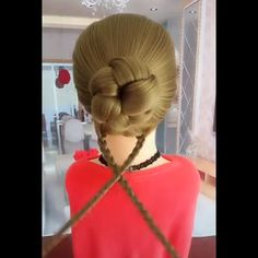 Awesome hair styles for long hairs. Long Ombre Hair, Long Red Hair, Long Hair With Bangs, Long Curly Hair, Bob Hairstyles For Fine Hair, Pretty Hairstyles, Easy Hairstyles, Hairstyle For Long Hair, Neutral Blonde