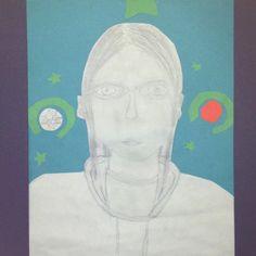 Rhea self-portrait