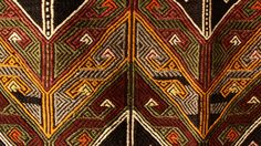 tribal textile  This is a Turkish handwoven design.