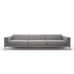 The sofa by Hitch Mylius is a generously proportioned sofa design with two alternative arm widths. Made in the UK by skilled upholsterers, this is simple, robust British design at it's best. Sofa Design, Interior Design, Mid Century Living Room, Modern Sofa, Modern Living, Best Sofa, Home Goods, Upholstery, Lounge