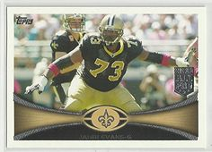 Jahri Evans 2012 Topps NFL Football Card 209 New Orleans Saints ** Read more  at the image link.